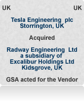 Radway Engineering Ltd was a manufacturing company focused on high precision machining for Ultra High Vacuum applications in the scientific instrument market. Auction process.