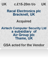 Airtech Computer Security specialised in encryption for banking, defence and government secure communications technology.